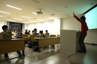 ピンホールカメラ講座 講義風景